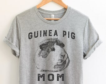 6544b6e9 Guinea Pig Mom T-Shirt