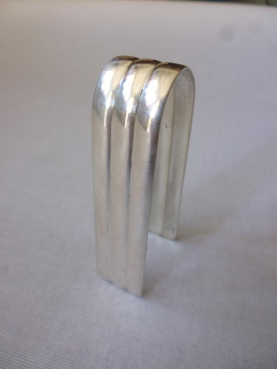 Sugar Tongs Wiener Werkst\u00e4tte Era, Alexander Sturm Art Deco Wiener Silbermanufaktur Tableware Silver 800