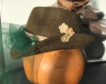 VTG cappello alpino - austriaco - alpen Kitz 426405e1b2a9
