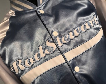 Vtg 80 s Rod Stewart tour jkt 2c94be1b00b0