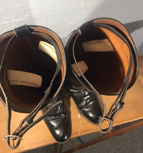 Riding boots-60s-made in england - image 10