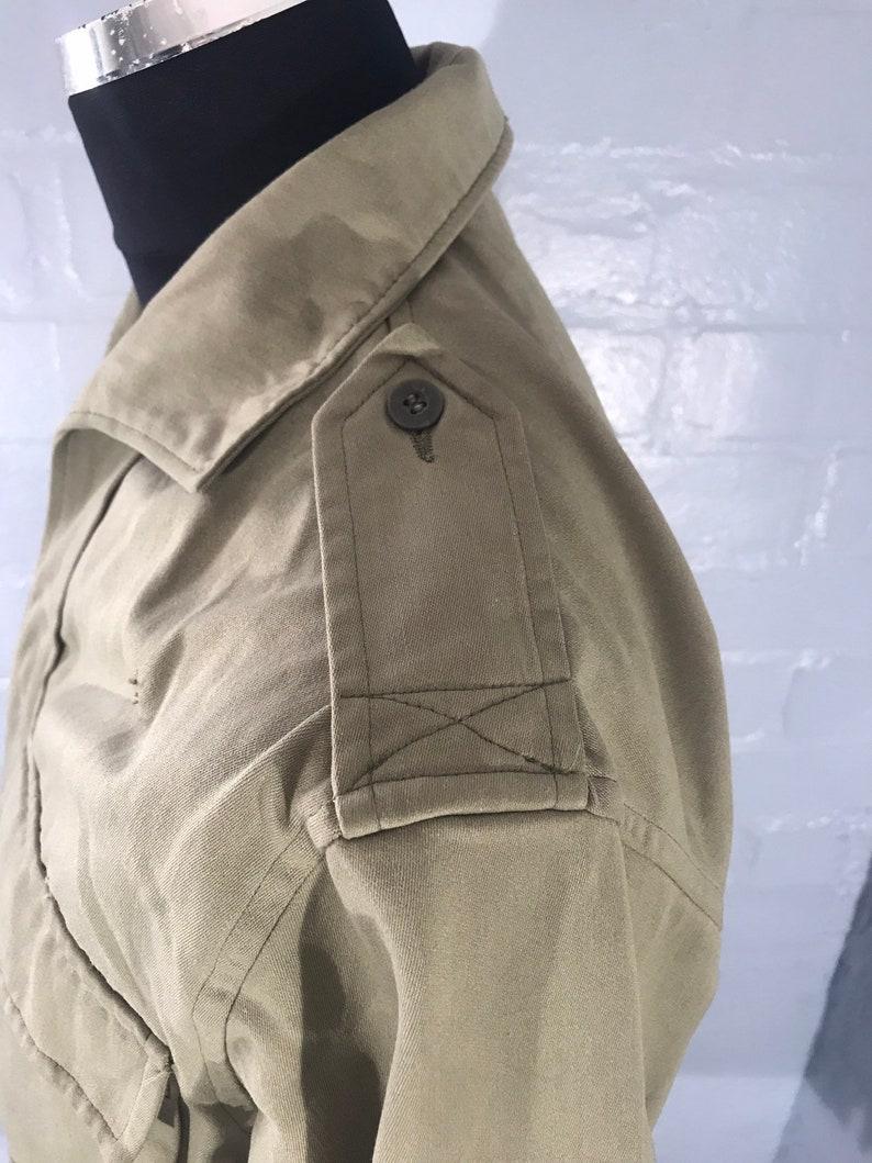 Vtg military spanish army shirt sizes available