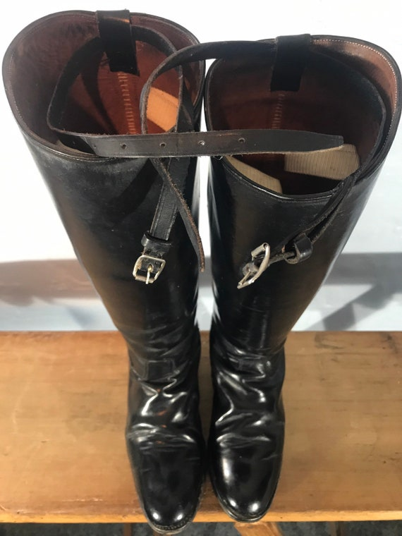 Riding boots-60s-made in england - image 3