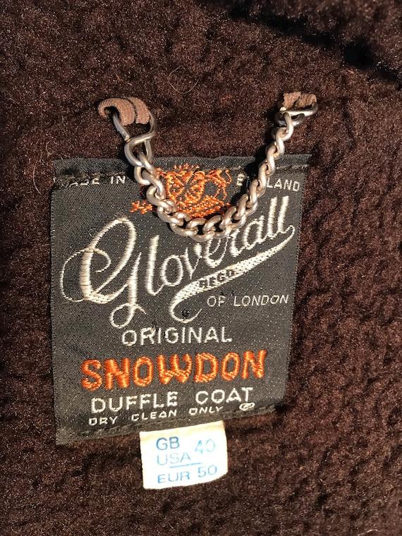 Vtg Duffle Gloerall of London Original Snowdon Du… - image 3