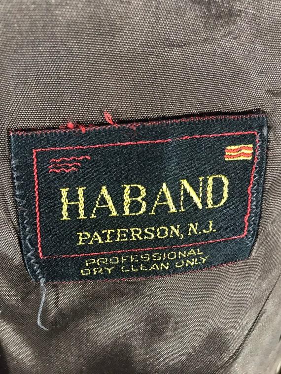 "Vtg check sports jkt - madras - ""Haband"" Paterson"