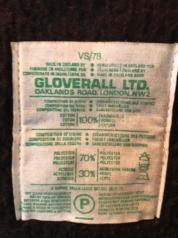 Vtg Duffle Gloerall of London Original Snowdon Du… - image 6