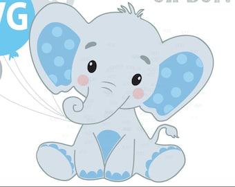 Baby Shower Elephant Svg Etsy