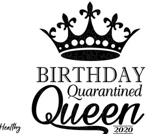 Queen Birthday Svg Etsy