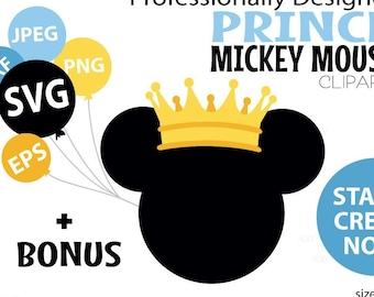 Prince Mickey Etsy