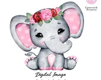 Baby Elephant Png Etsy African bush elephant infant elephantidae baby shower, baby shower cards and blue elephant, blue elephant logo png clipart. baby elephant png etsy