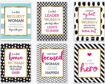 Gifts for Her You are Braver than you Know Bridesmaids Gifts Kate Spade Inspired Inspirational Quote motivational quotes
