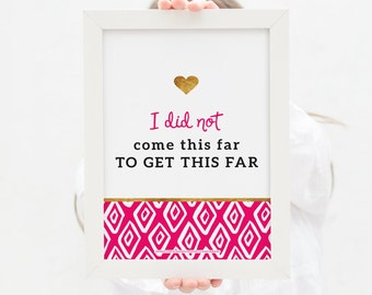 Gifts for Her Inspirational Quotes Wall Decor Positive Quotes Quote Kate Spade Inspired Bridesmaid Gift Office Decor