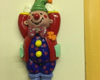 Decoratve Salt Dough Clown