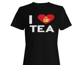 i love tea Ladies T-shirt cc897f