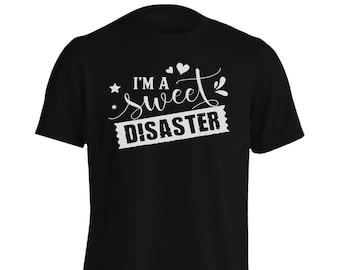 Sweet Disaster Men's T-Shirt s260m