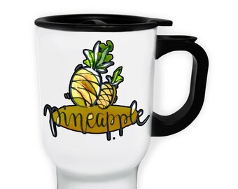 Pineapple Fruit Tasty Stainless S Travel 14oz Mug r831t