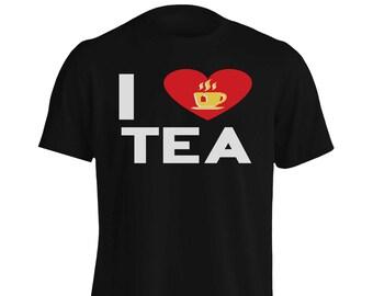 i love tea Men's T-Shirt cc897m