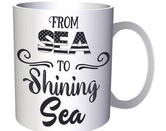 From Sea to Shining Sea 11oz Mug w101