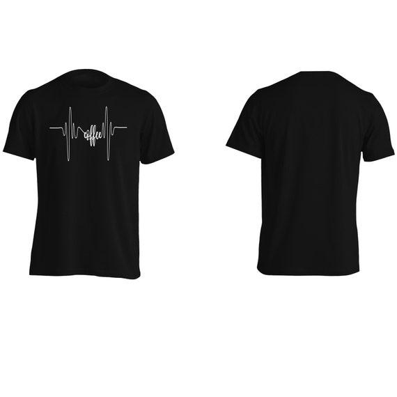T-Shirt j523m café coeur coeur café battre des hommes 7a2917
