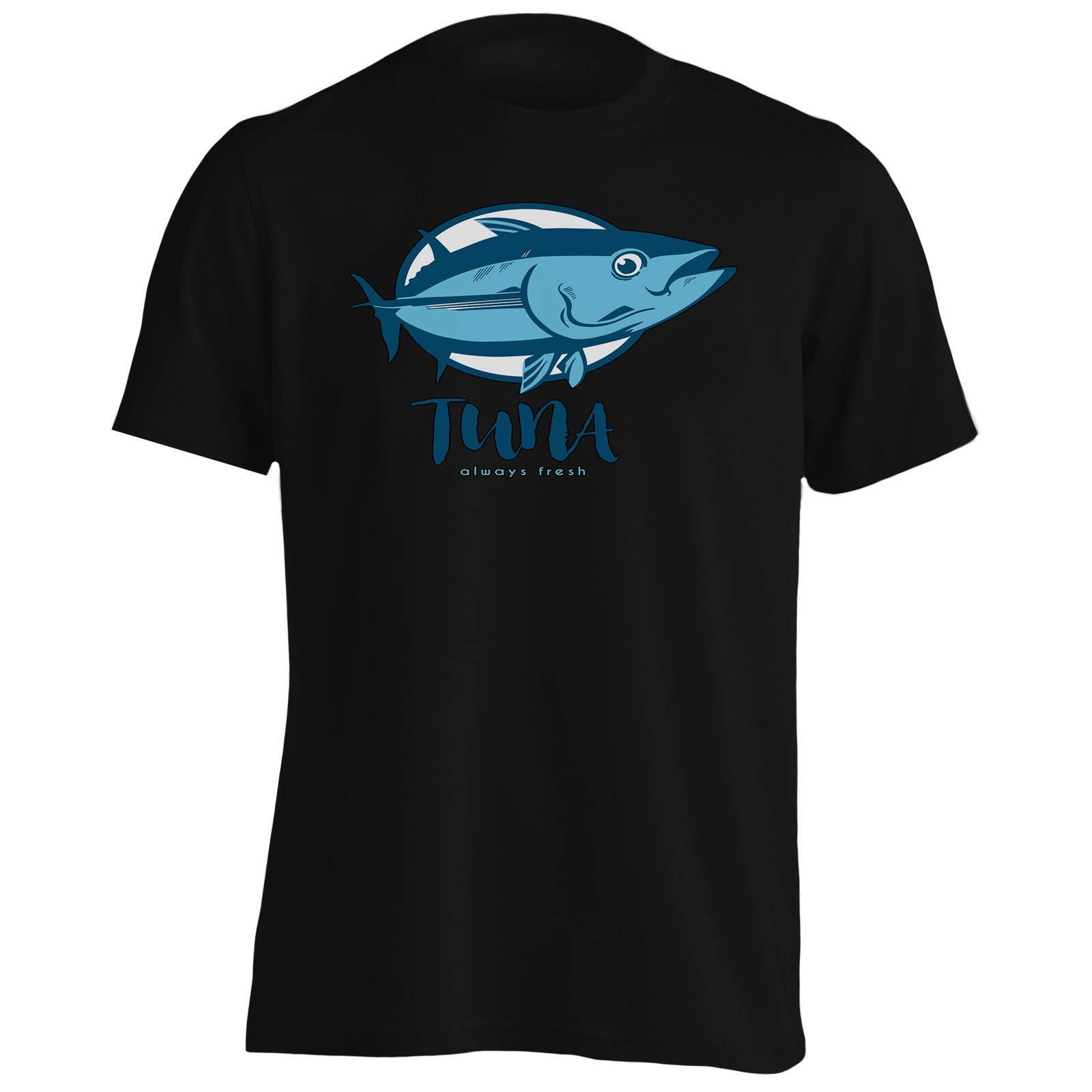 A711m T-Shirt thon toujours poisson frais nouveauté poisson toujours rigolo pour homme 4424d9