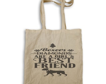 Boxers are a Girls Best friend Tote bag v970r