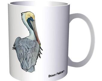 New Brown Pelican Bird 11oz Mug m344