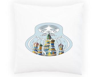 Matryoshka doll Russia Pillow Cushion Cover u606p