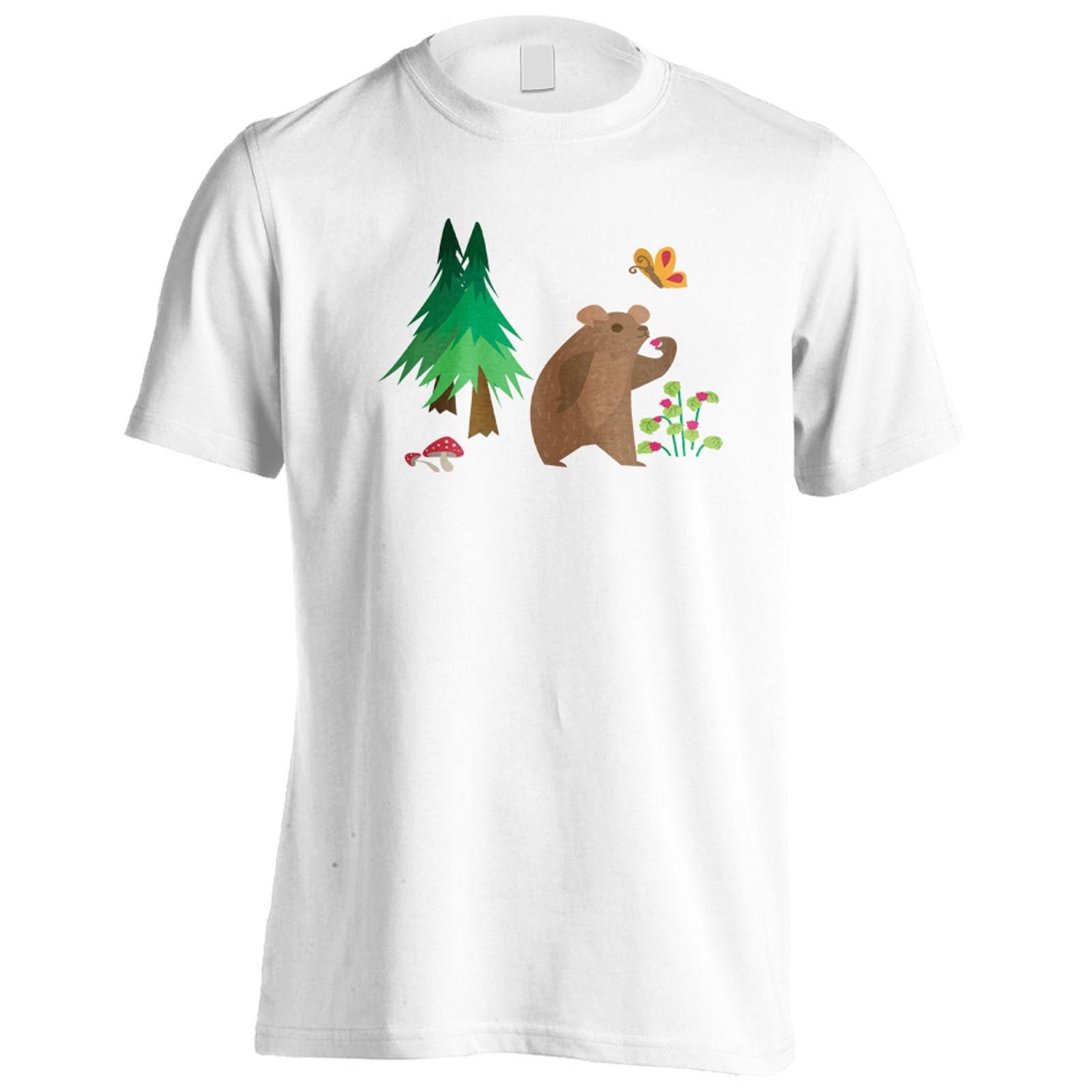 Ours en T-Shirt v963m habitat nouveauté drôle drôle drôle hommes 6beb9e