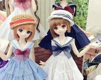 It's our secret - Sailor dress for BJD SD, DD 1/3
