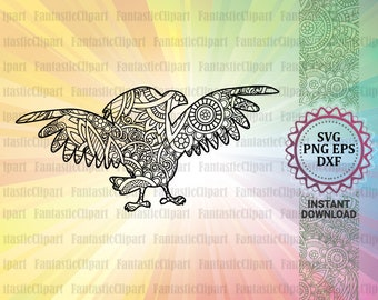 7d91fd383a56d Eagle Svg, Eagle Mandala Svg, Eagle Silhouette, Eagle Clipart, Eagle Decal,  Eagle Cut Files, Eagle Shirt Svg, Mandala Svg, Zentangle Svg
