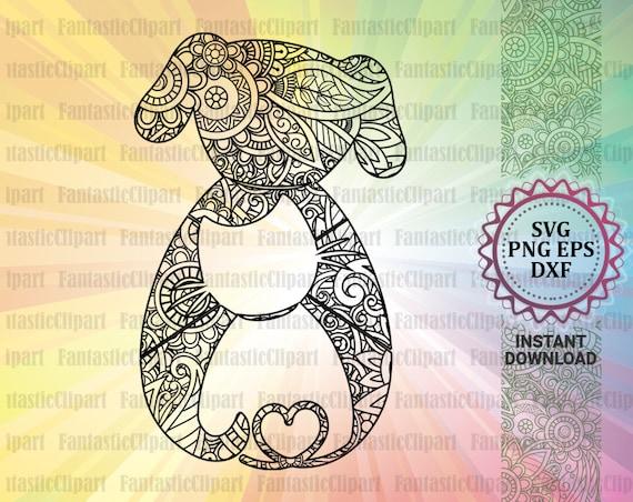 Pet Lover Decal Svg Pet Svg Files Dog Mandala Svg Cat Etsy