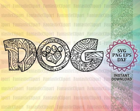 Love Dog Svg Love Dog Paw Svg Dog Lover Svg Dog Lover Etsy
