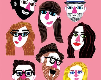 Customised Portrait (formerly known as #TheIllustratedSelfie)