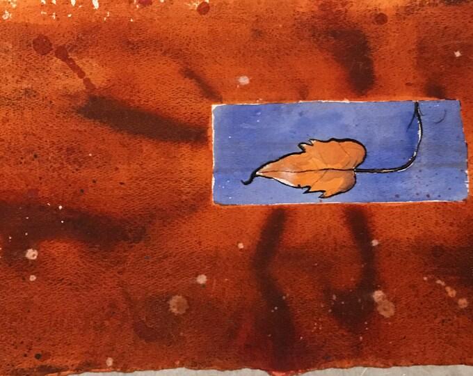 Acquarello orizzontale figurativo, acquerello su carta di alta qualità, dipinto realistico di Mauro Carac