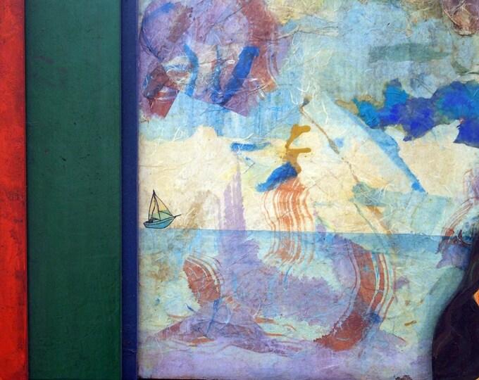 wall painting, wall art, original painting, wall decor, mauro carac