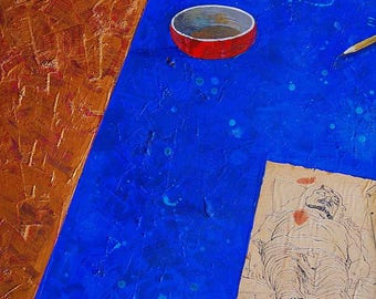 Gold, gold art, gold painting, canvas art, mauro carac, carac