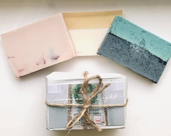 Goat Milk Soap Ends | Assorted Soap, Homemade soap favors, Baby shower, bridal shower favors, wedding or party favors | Inspired by Light