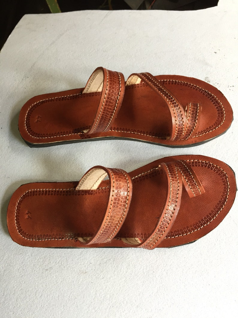 45a7e3bcd7b1 ON SALE Men Leather sandals Maasai sandals African Men