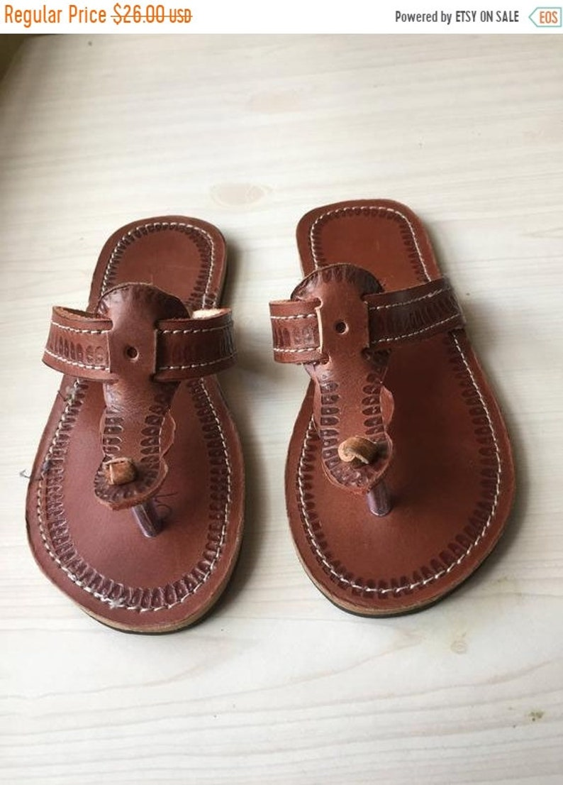 299cf4d113113 ON SALE ON Sale Kids leather sandals Men African leather
