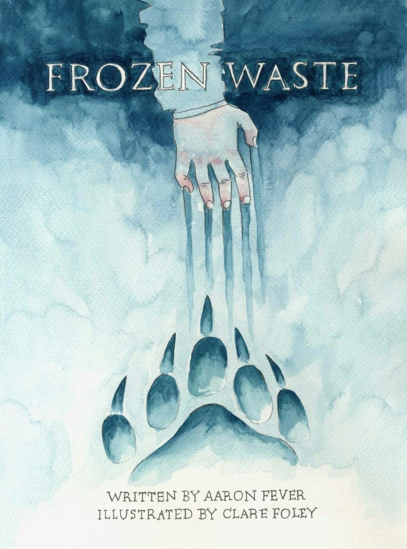 Frozen Waste comic written by Aaron Fever illustrated by image 0