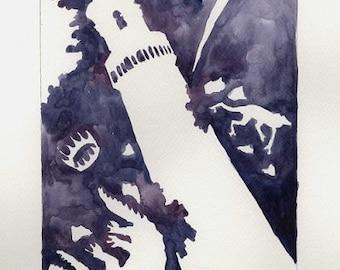The Tower - Herpetology Tarot Print