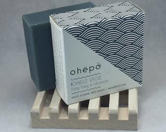 SOAP handmade de Bretagne test 7% of organic ingredients - new wave