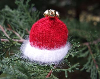 Santa Hat Christmas Ornament
