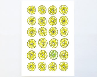 Zesty A5 Print
