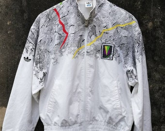 defd36a8cbc891 Vintage 80 s Adidas Stefan Edberg Light Trainer jacket tennis atp tour ivan  lendl andre Agassi Pete sampras Size M