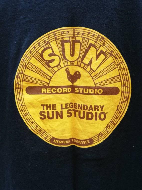 Sun Studio The Legendary Records Vintage 90's T-sh