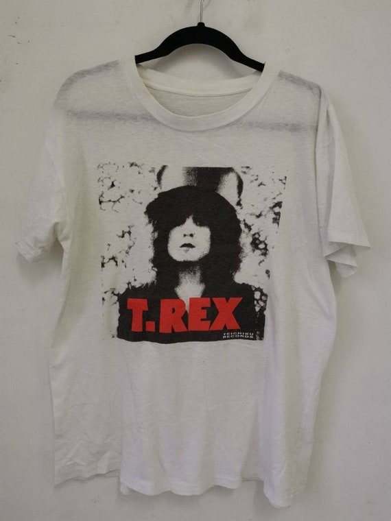 Vintage 90's T. Rex Marc Bolan The Slider Teichiku