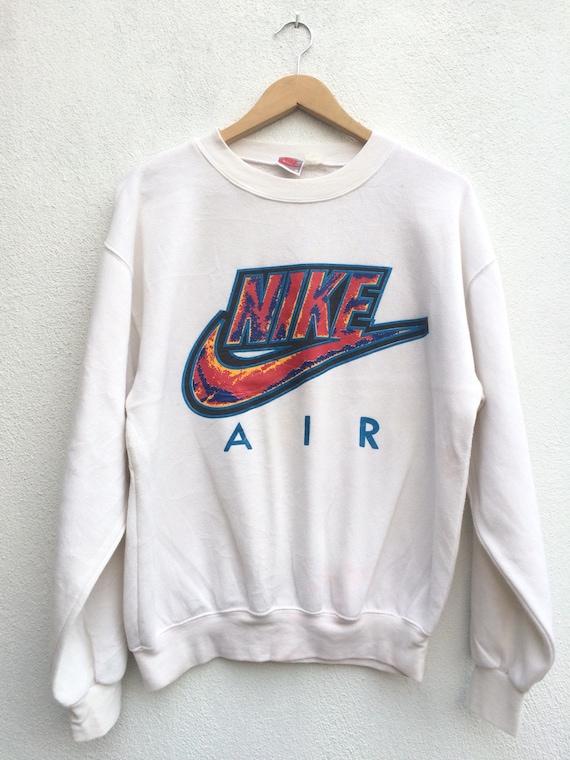 39f80d9a2 Vintage Nike Air Swoosh Big Logo Sweatshirt | Etsy