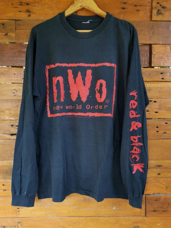 Vintage 1998 NWO // New World Order Red and Black