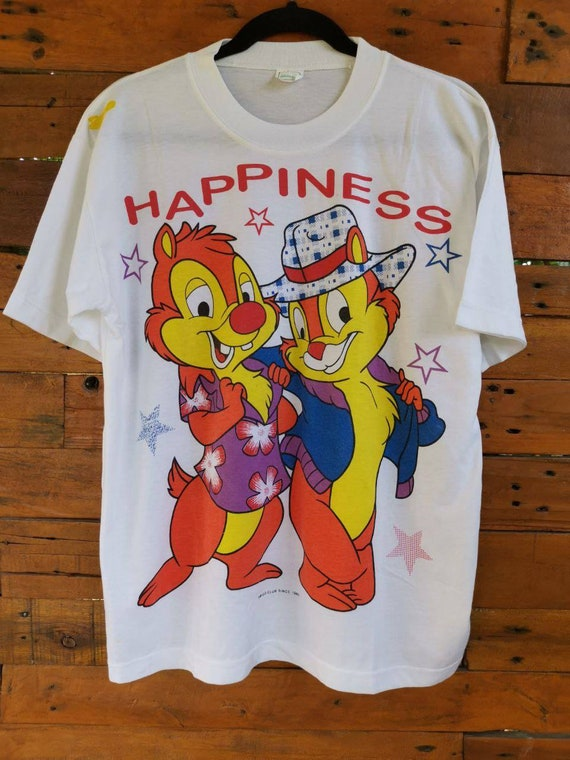 Vintage 1985 Chip and Dale  Cartoons Walt Disney A